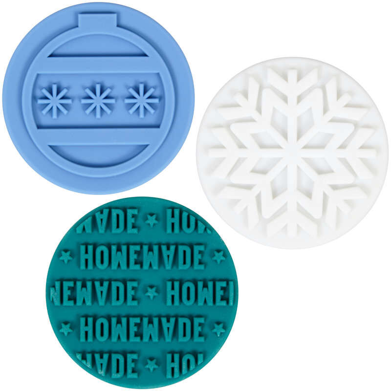 Christmas Cookie Stamp Set, 4-Piece image number 2