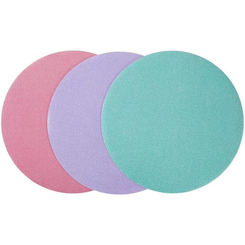 Assorted 12-Inch Glitter Cake Circles, 3-Count image number 0