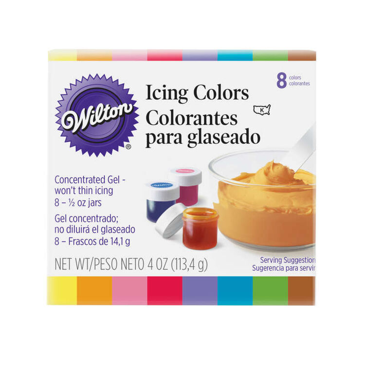 Icing Colors, 8-Count Icing Colors