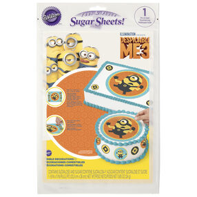 Despicable Me 3 Sugar Sheet