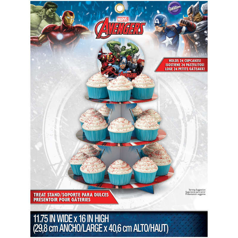 Avengers Cupcake Stand in Packaging image number 0