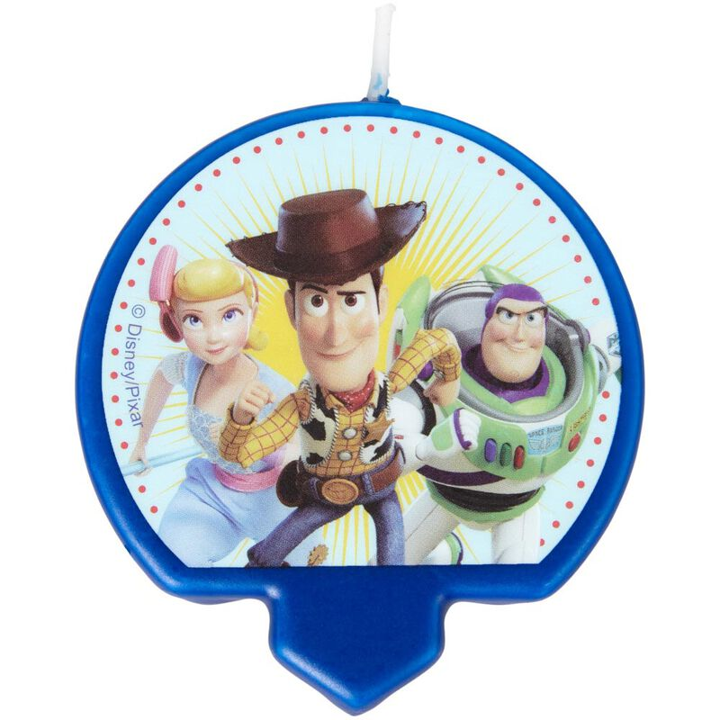 Disney Pixar Toy Story 4 Birthday Candle image number 0