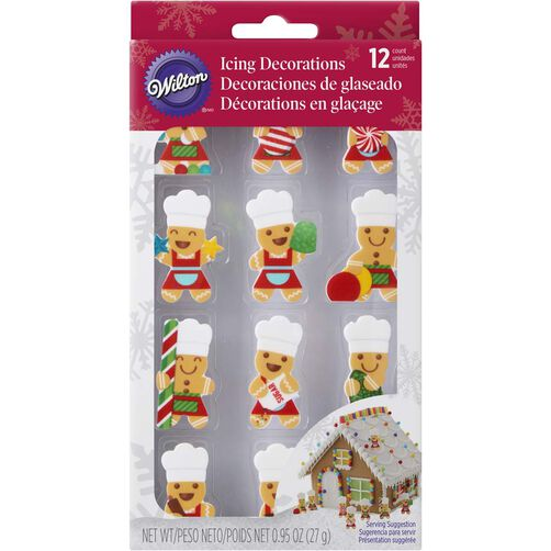Wilton Gingerbread Man Gingerbread House Decorating Kit