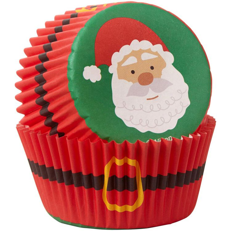 Santa Cupcake Decorating Kit, 1.17 oz