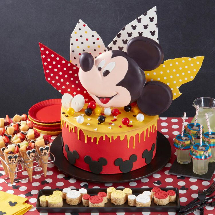 Aluminum Mickey Mouse Cake Pan