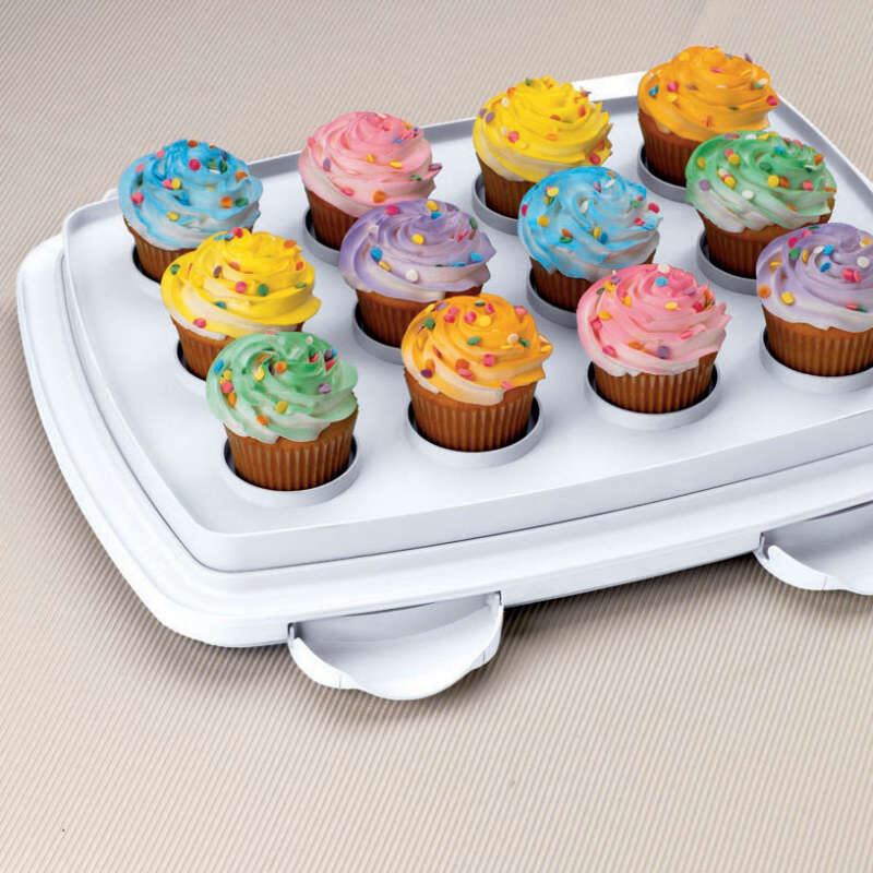 Oblong Cake and Cupcake Caddy image number 6