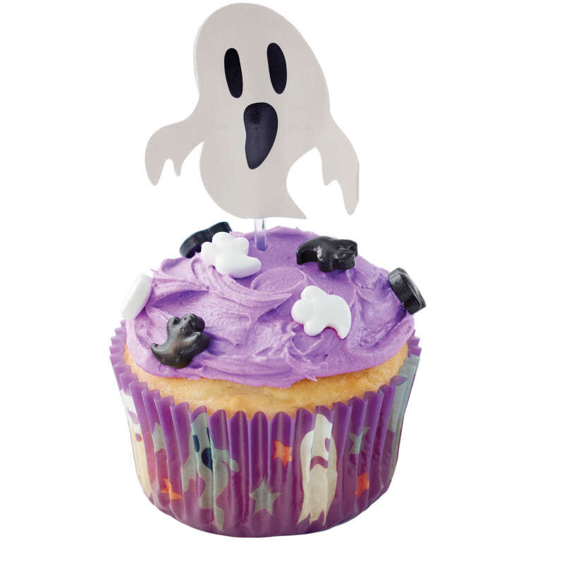 Halloween Ghost Cupcake Decorating Kit image number 4