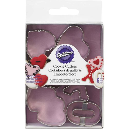 Valentine Mini Cookie Cutters