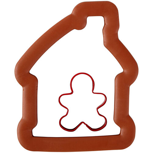 Large Gingerbread House Comfort-Grip Cookie Cutter