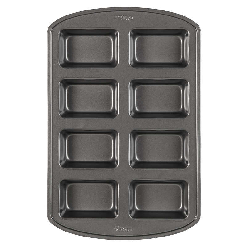 Perfect Results Non-Stick Mini Loaf Pan, 8-Cavity image number 0
