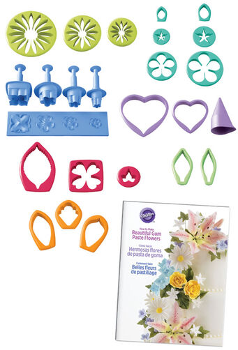 Gum Paste Flower Cutter Set Wilton