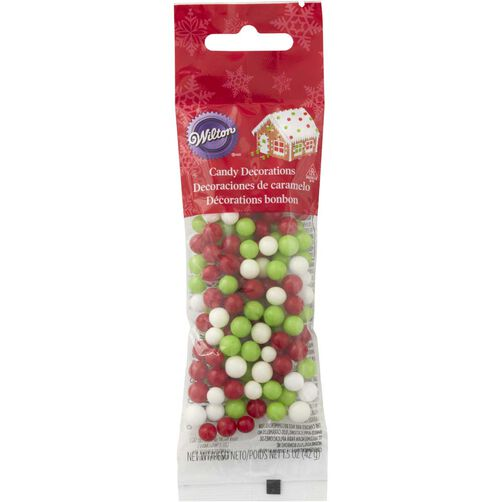 Holiday Jawbreaker Candy Decorations