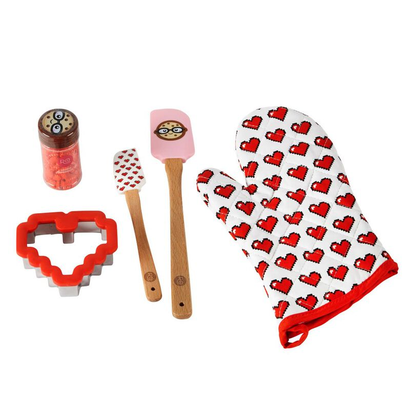 ROSANNA PANSINO by Cookie Decorating Kit, 5-Piece - Cookie Decorating Supplies image number 0