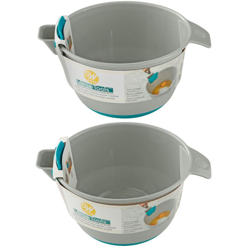 Versa-Tools Measure and Pour Mixing Bowl Set, 2-Piece image number 0