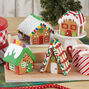 Build-it-Yourself Gingerbread Mini Village Decorating Kit