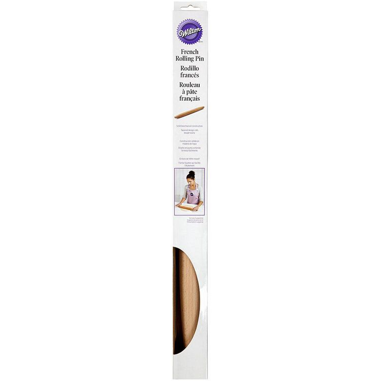 Wiltong Baking Tools - Wooden French Rolling Pin