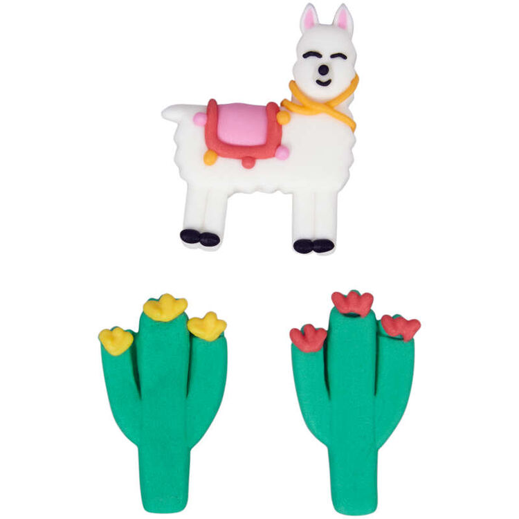 Cactus Party Icing Decorations, 12-Count