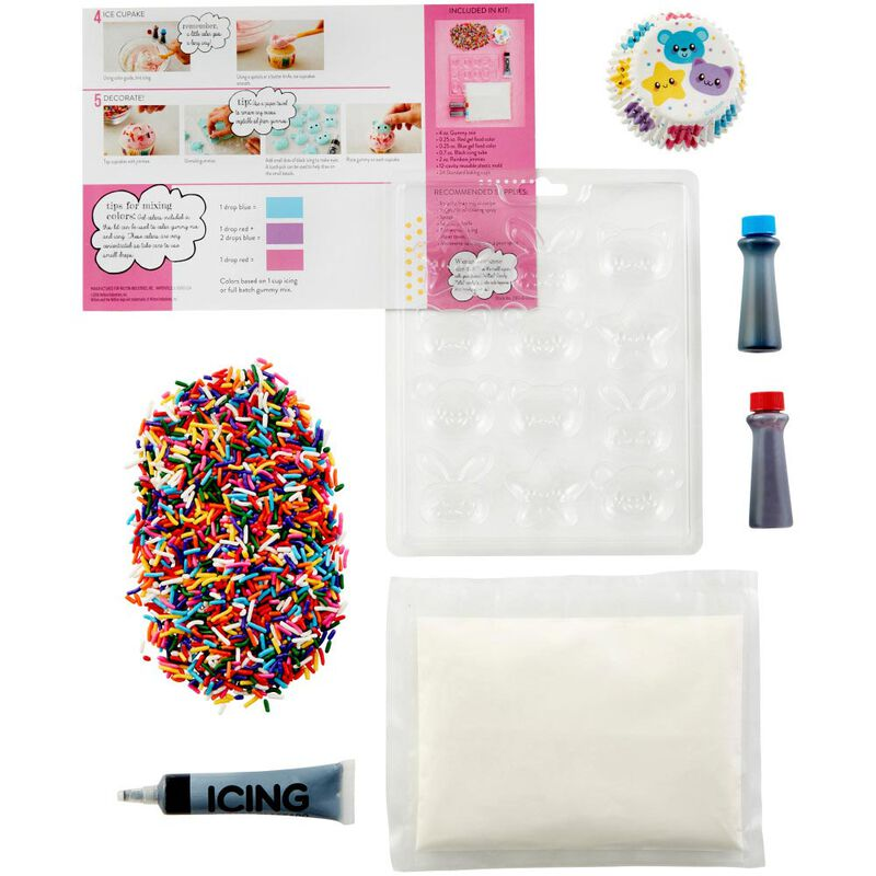 DIY-Lish Gummy Cupcake Decorating Kit image number 0
