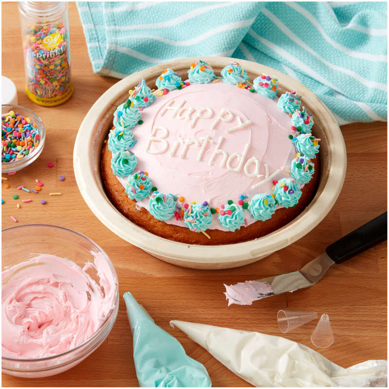 Disposable Cake Decorating Tips Set, 4-Pieces image number 4