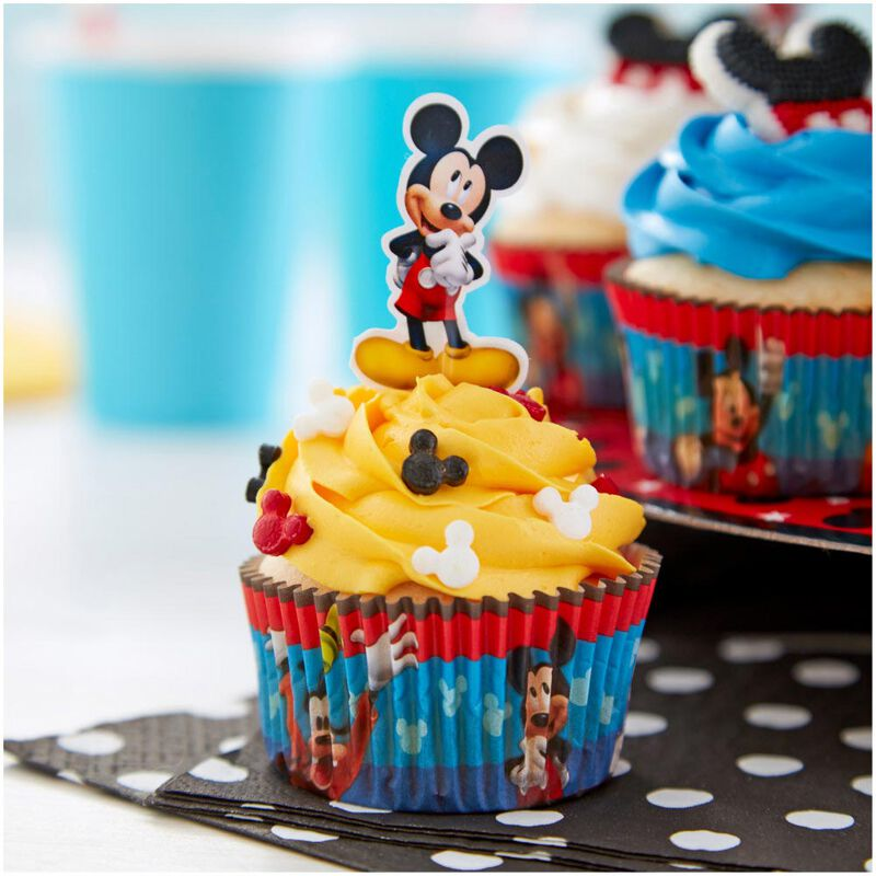 Mickey and The Roadster Racers Birthday Cupcakes Party Pack, 8-Piece image number 9