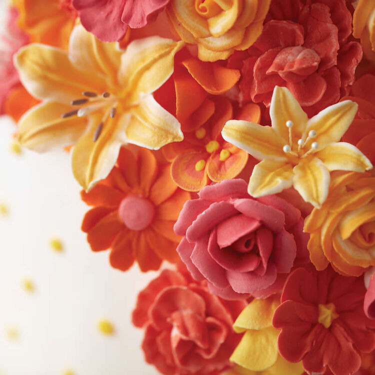 Flower Wave Fondant and Gum Paste Drying Rack - Cake Decorating Supplies