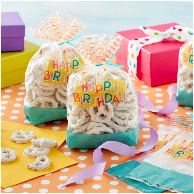 Happy Birthday Treat Bags, 30-Count