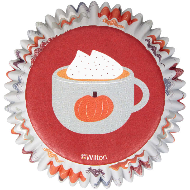 Welcome Fall Cupcake Liners, 75-Count image number 0