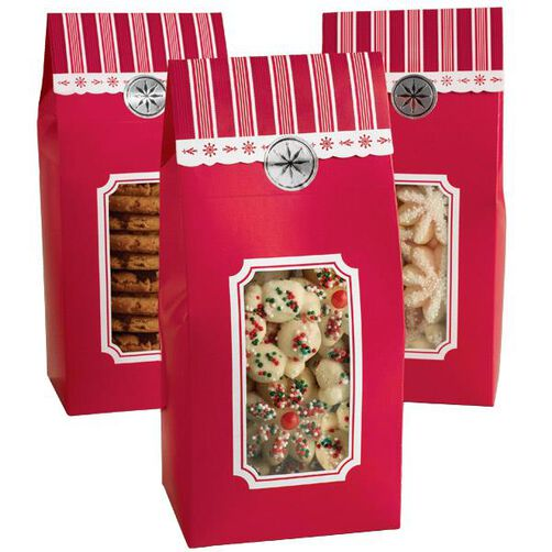 Holiday Tented Gift Boxes