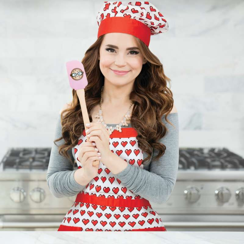Rosanna Pansino by Apron and Hat Set, 2-Piece image number 2