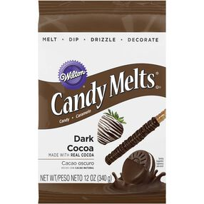 Dark Cocoa Candy Melts Candy