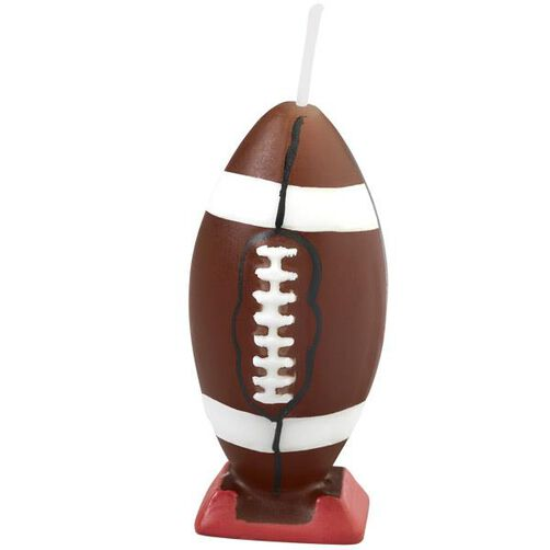 Footballs 6-Piece Candle Set