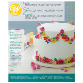 How To Decorate With Fondant Shapes And Cut Outs Kit