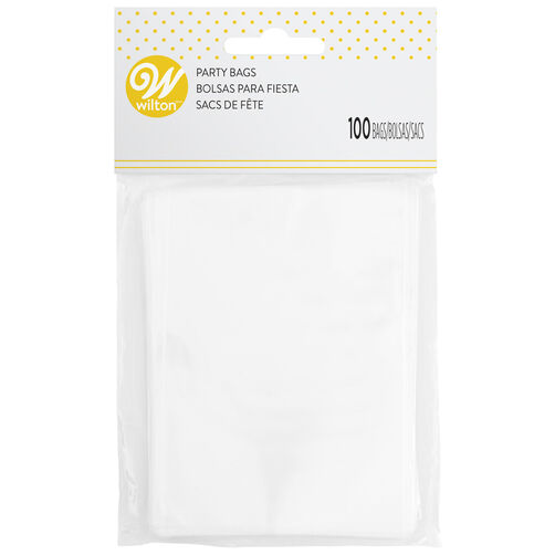 Clear Treat Bags, 100 Count