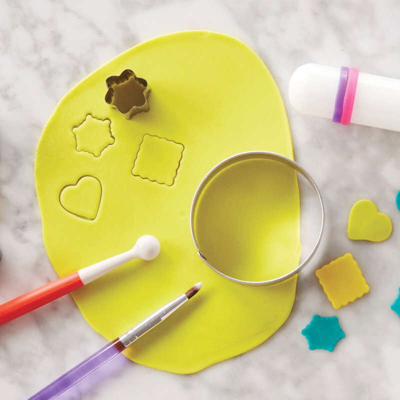 How to Decorate with Fondant Shapes and Cut-Outs Kit, 14-Piece image number 4