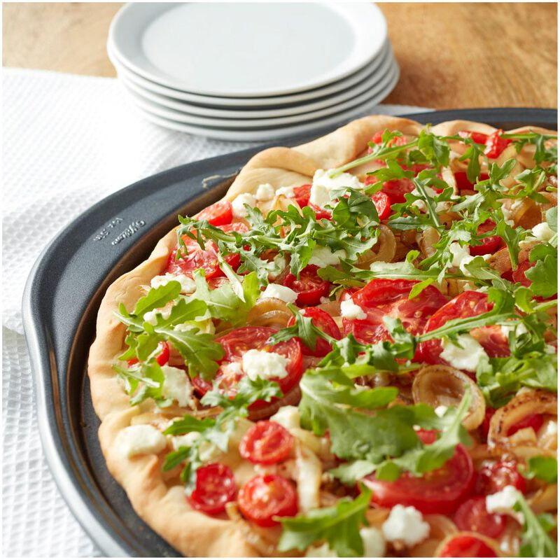 Perfect Results Non-Stick 14-Inch Pizza Pans with Holes, Multipack Set of 2 image number 4