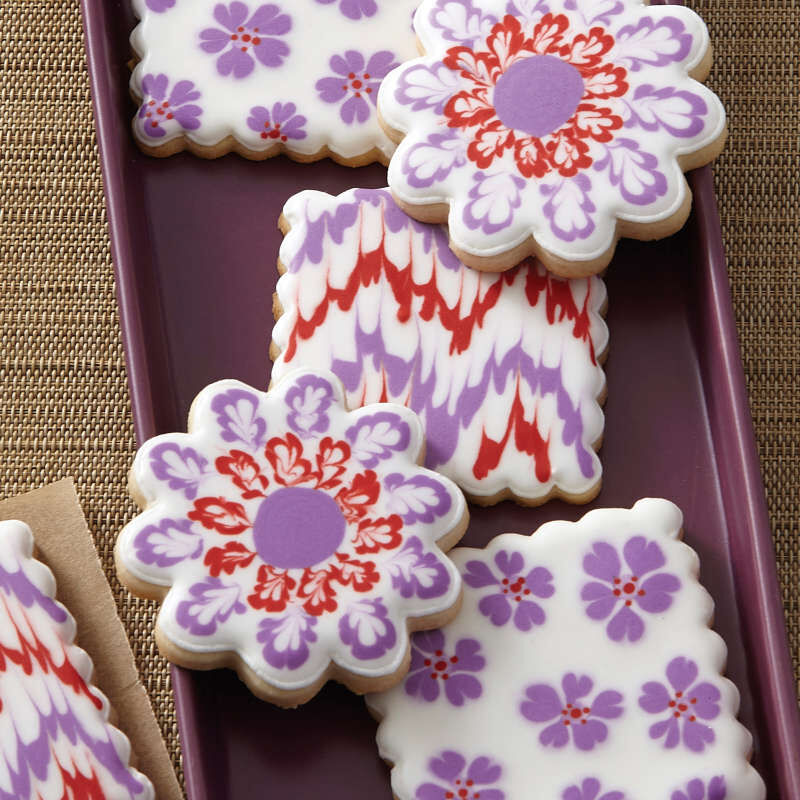 """""""I Taught Myself To Decorate Cookies"""" Cookie Decorating Book Set - How To Decorate Cookies image number 4"""