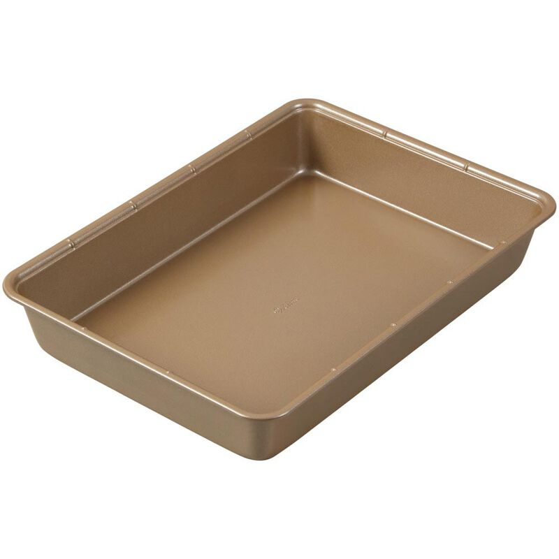 Ceramic-Coated Non-Stick 9 x 13-Inch Oblong Pan (2 Pack), Ceramic Baking Pan Set image number 2