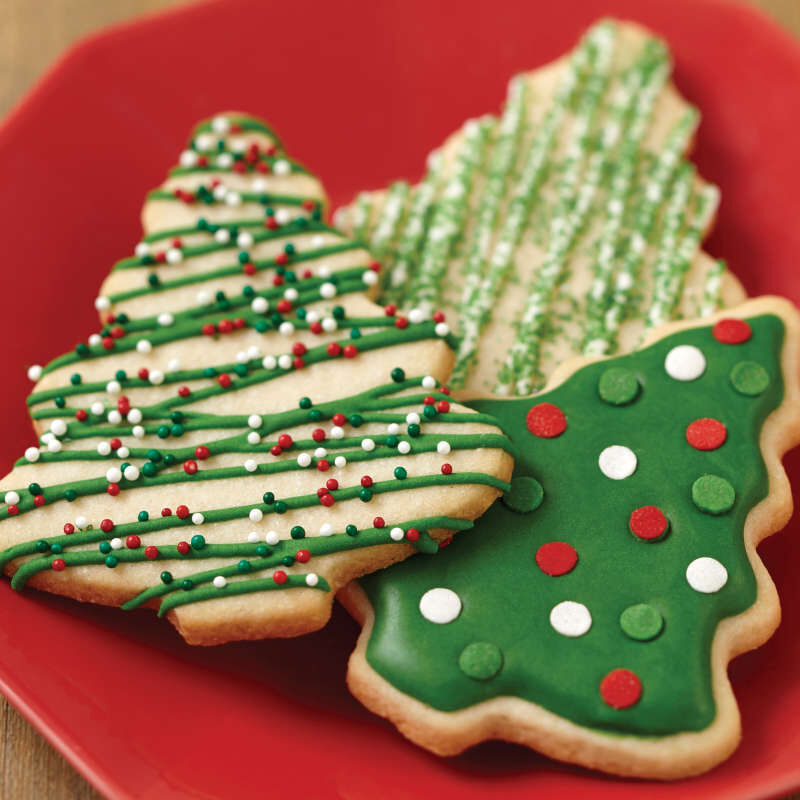 Red & Green Holiday Cookie Icing, Multipack of 6 image number 6