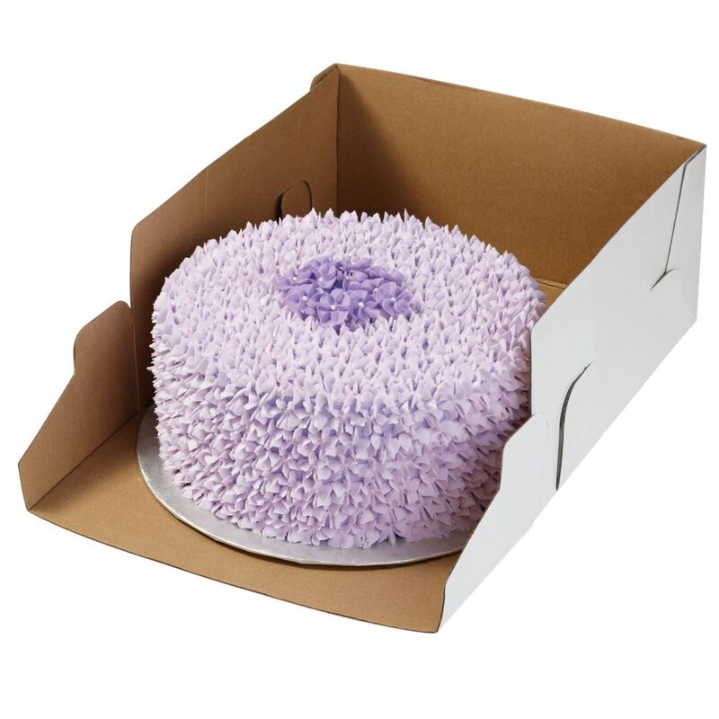 12-Inch Cake Box with Window for 10-Inch Cake, 2-Piece Set image number 2