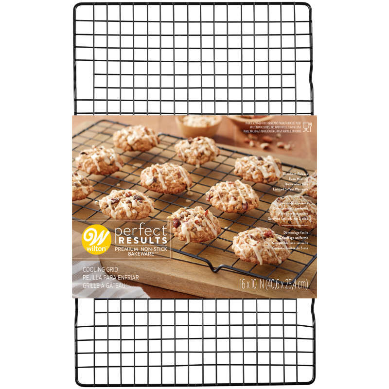 Perfect Results Premium Non-Stick Cooling Rack, 16 x 10-Inch image number 1