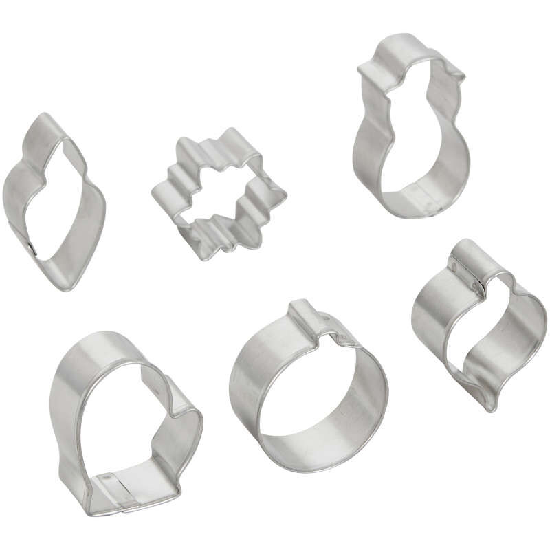 Mini Christmas Cookie Cutter Set, 6-Piece image number 1
