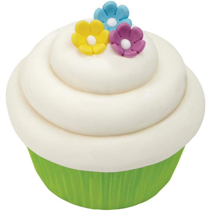 Mini Daisy Multi-Color Icing Decorations, 32-Count image number 5