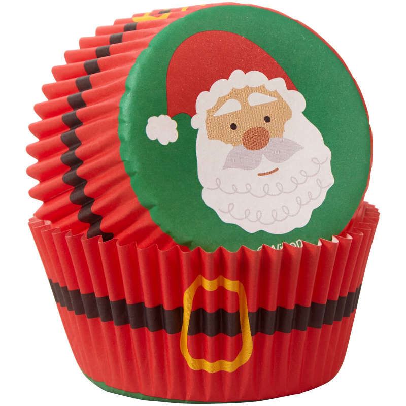 Santa Cupcake Decorating Kit, 1.17 oz image number 3