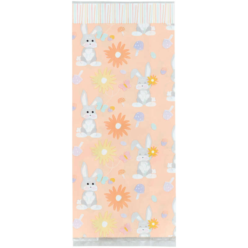 Easter Bunny Treat Bags, 20-Count image number 1