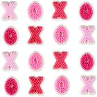X's and O's Icing Decorations, 24-Count