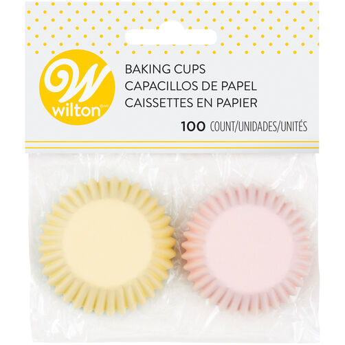 Assorted Mini Pastel Cupcake Liners