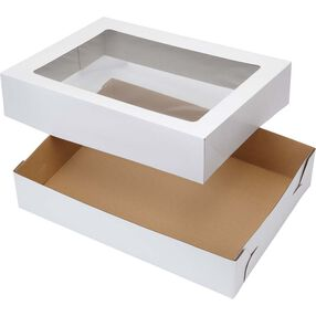 19x14 Corrugated Window Cake Boxes