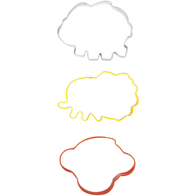 Animal Cookie Cutter Set Top View