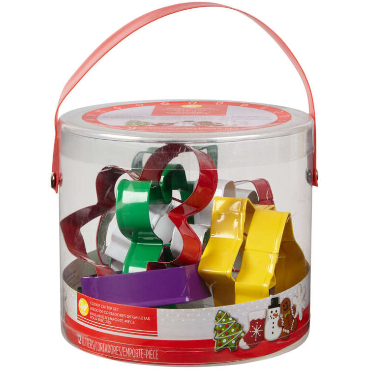 Holiday Cookie Cutter Set, 12-Piece