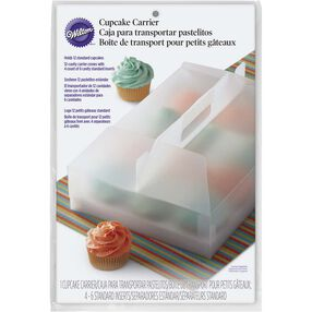 Transparent Cupcake Transport